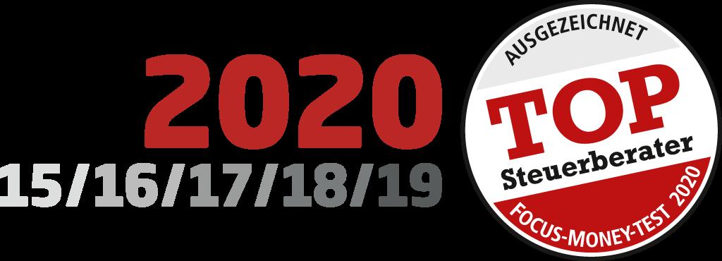 Klaus + Partner: Siegel Top Steuerberater 2020