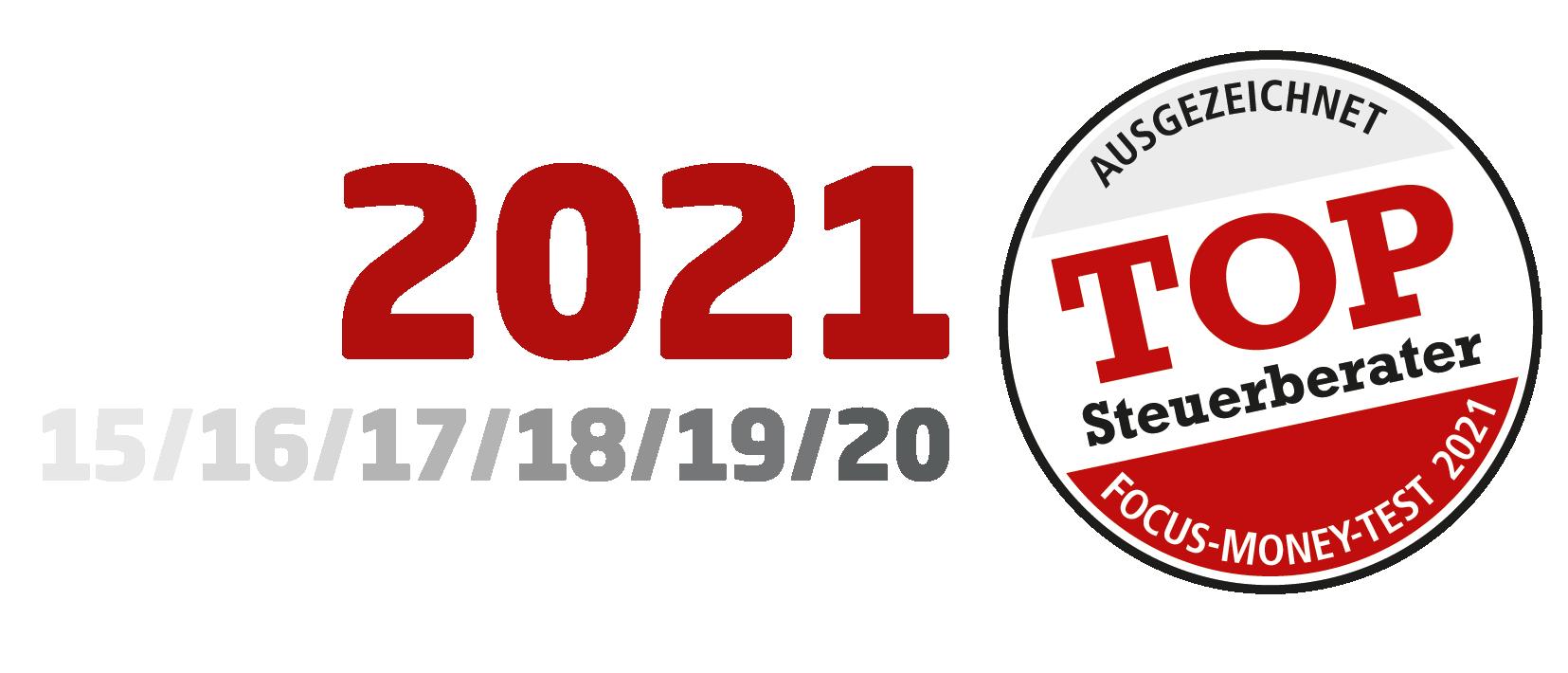 Klaus + Partner: Siegel Top Steuerberater 2021